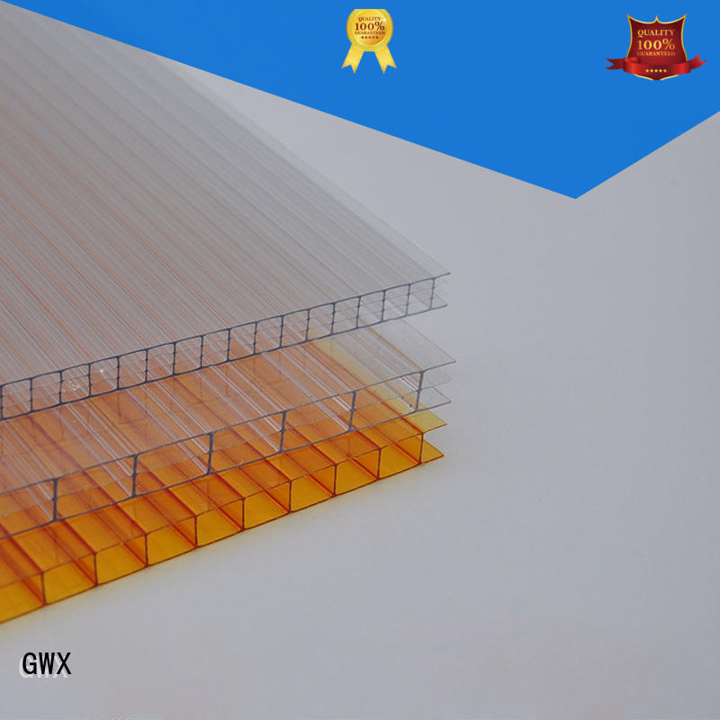 high quality hollow sheet polycarbonate lexan factory direct for balcony