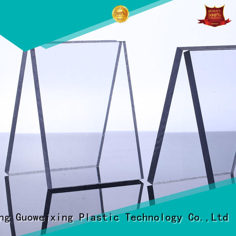 hollow width solid polycarbonate roofing GWX Brand