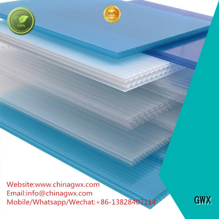 single swimming hollow wall hollow sheet GWX Brand