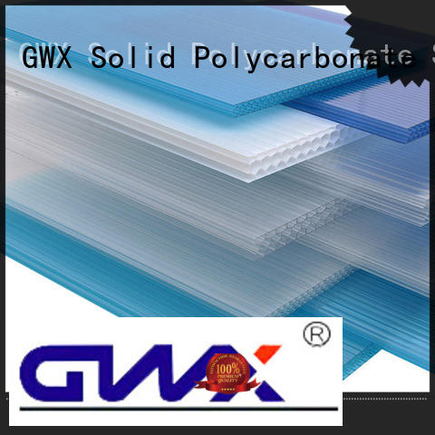 GWX 100% virgin Bayer pc sheet factory direct for balcony
