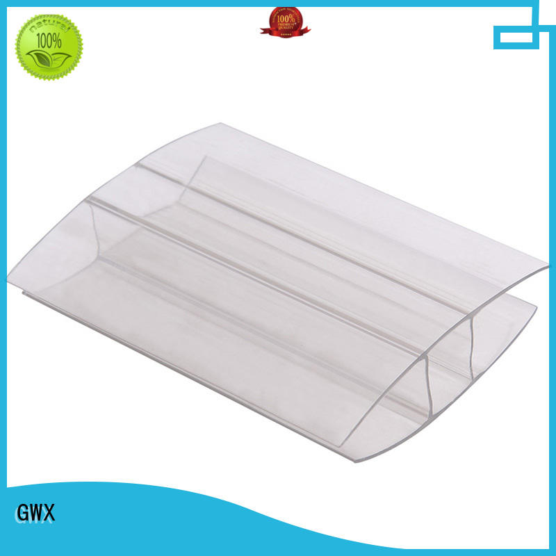 effective polycarbonate sheet end caps bayer raw material supplier for PC sheets