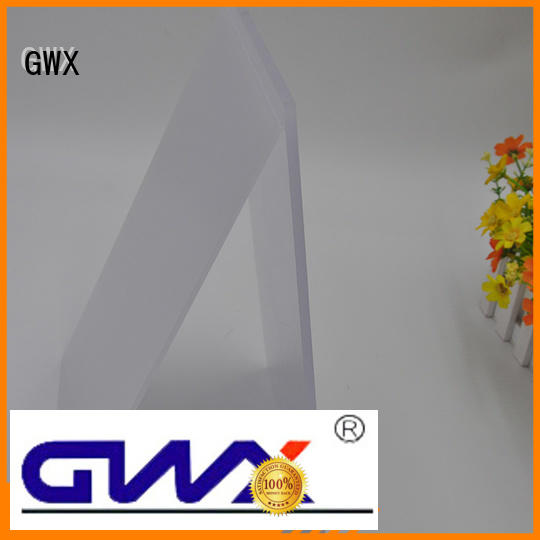 GWX Brand billboard size polycarbonate sheet price led