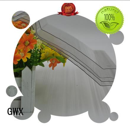 virgin polycarbonate corrugated sheet poly GWX company