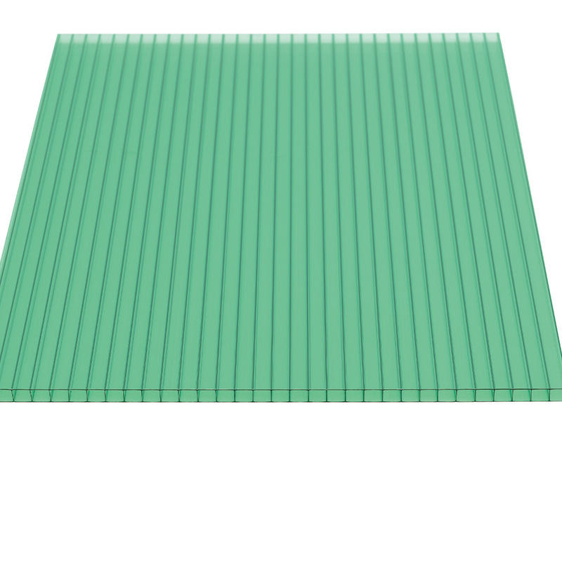 Polycarbonate Greenhouse roofing with single wall twin wall hollow sheet