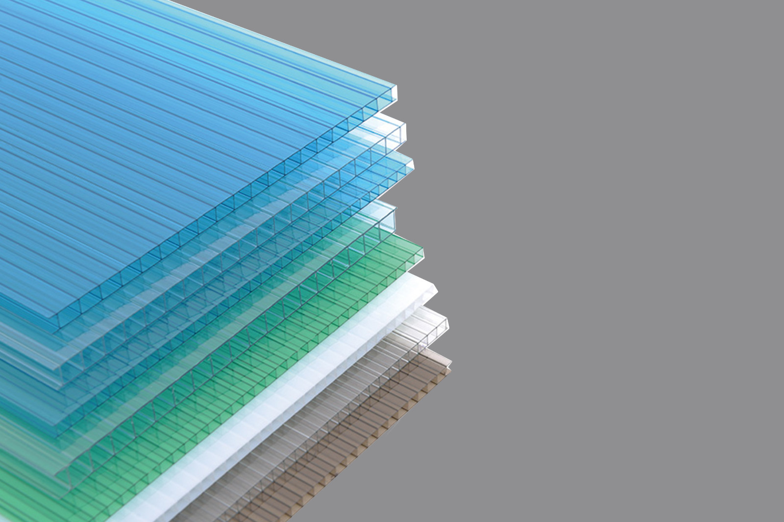 GWX impact-resistant pc multi polycarbonate multiwall sheet cellular for swimming pool cover-10