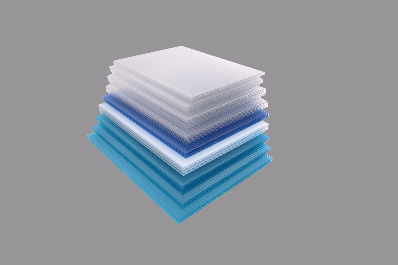 GWX impact-resistant pc multi polycarbonate multiwall sheet cellular for swimming pool cover-11