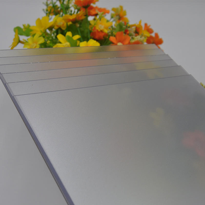 Polycarbonate frosted sheet with anti-scratch CE certification from ISO supplier