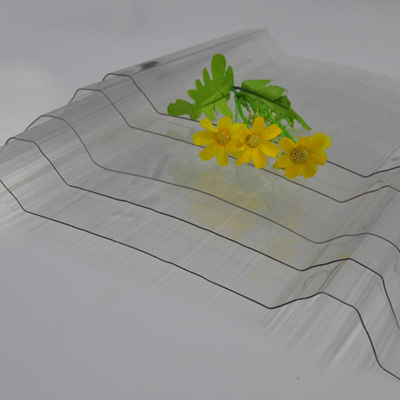 polycarbonate corrugated sheet 100% virgin materials with 10 years warranty
