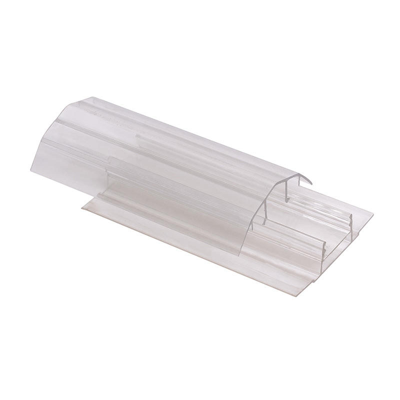 polycarbonate profile H shapre U shape L shape thickness 4mm 6mm 8mm