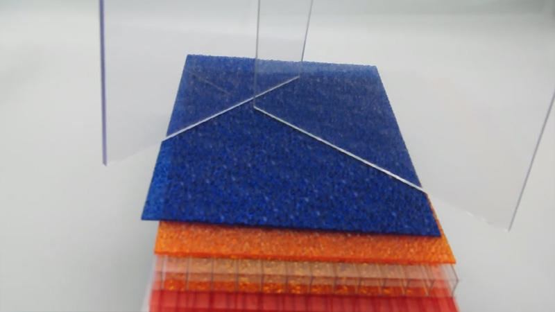 Cellular polycarbonate sheets thickness 4mm 6mm 8mm 10mm 12mm 16mm