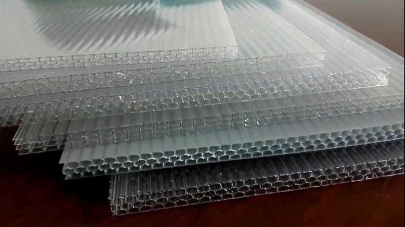 GWX honeycomb polycarbonate sheet