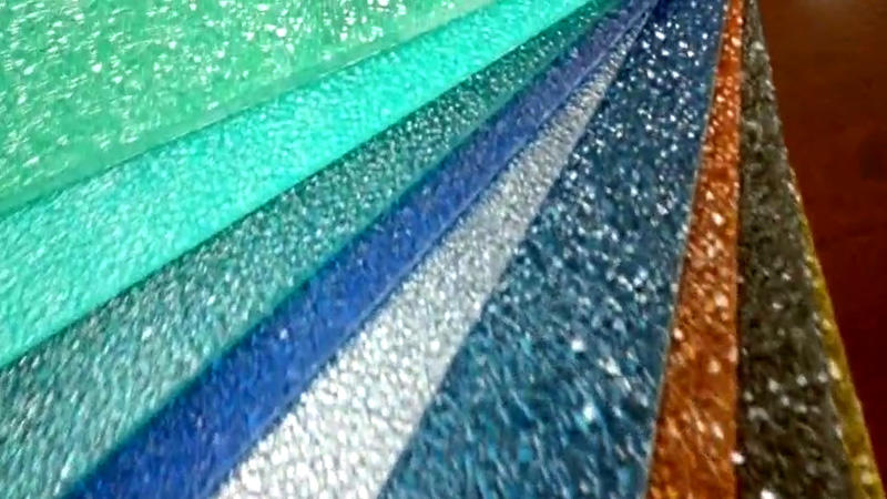 polycarbonate embossed diamond sheet for building roofing with good quality