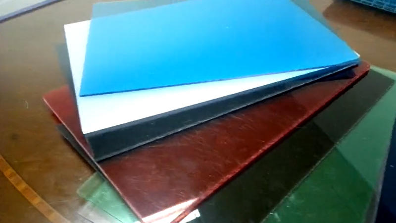 polycarbonate solid sheet with different colors thickness 2mm 4mm 6mm 8mm 10mm 20mm