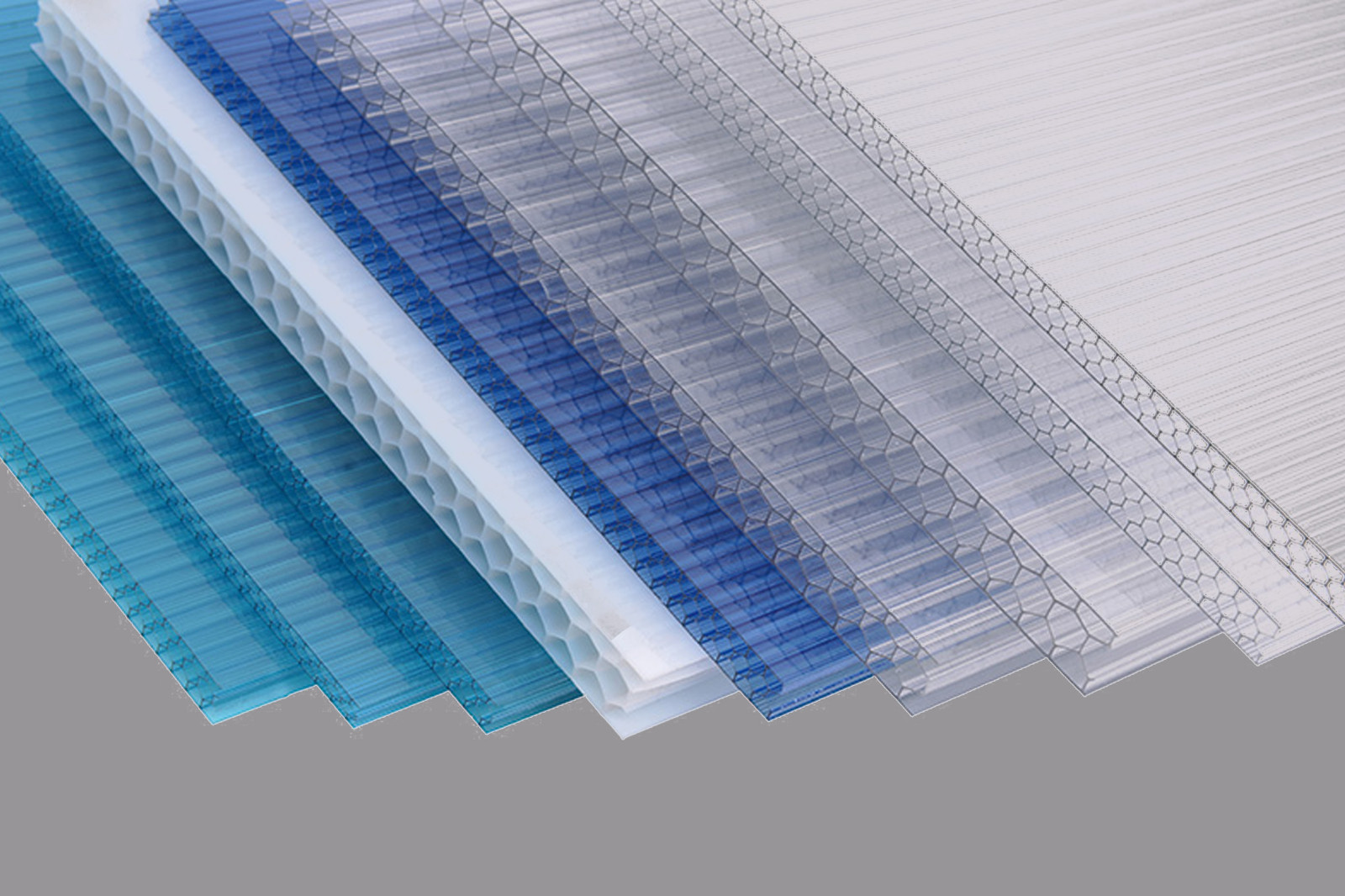 GWX impact-resistant pc multi polycarbonate multiwall sheet cellular for swimming pool cover-9