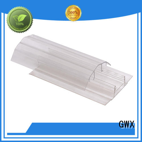 waterproof polycarbonate h channel bayer raw material supplier for PC sheets