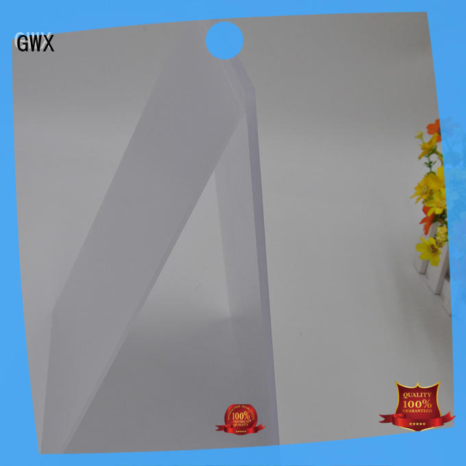 translucent polycarbonate light diffuser 100% new virgin material for Gazebo GWX