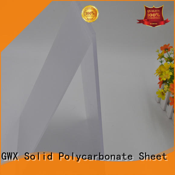 lexan polycarbonate diffuser sheet translucent for Gazebo GWX