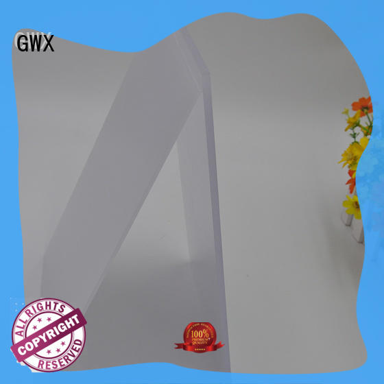 GWX lexan polycarbonate light diffuser wholesale for garden house