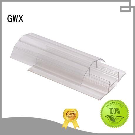 clips polycarbonate polycarbonate u profile accessories polycarbonte GWX company