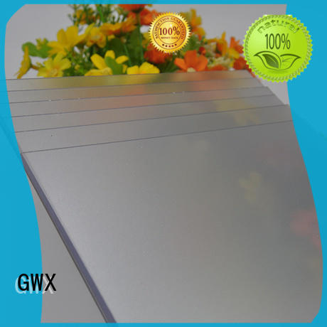 GWX frosted frosted plastic sheets manufacturer for glazing windows
