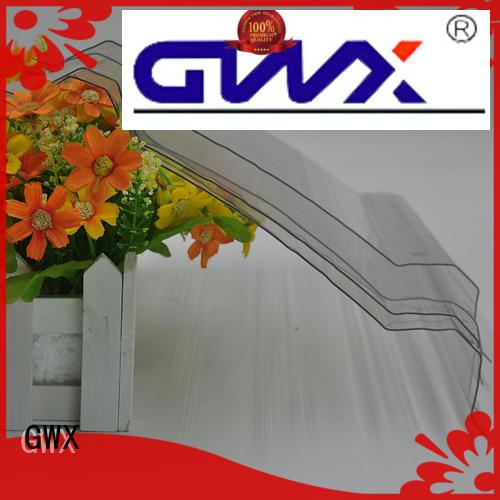 multi-color suntuf corrugated polycarbonate round wholesale for skylight