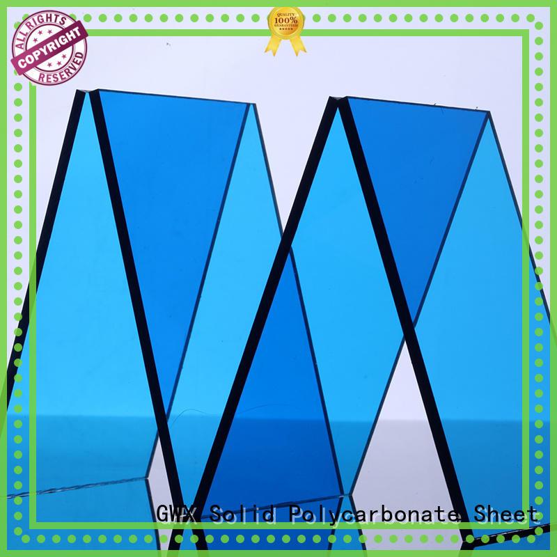100% virgin Bayer makrolon transparent OEM for roofing covering GWX