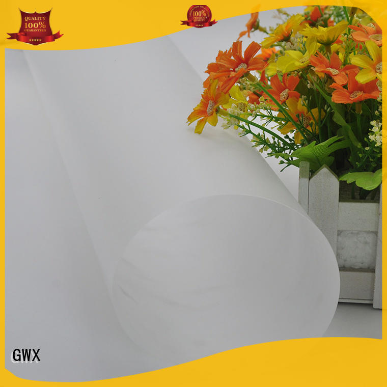 GWX recyclable makrolon film 100% virgin Bayer for surface