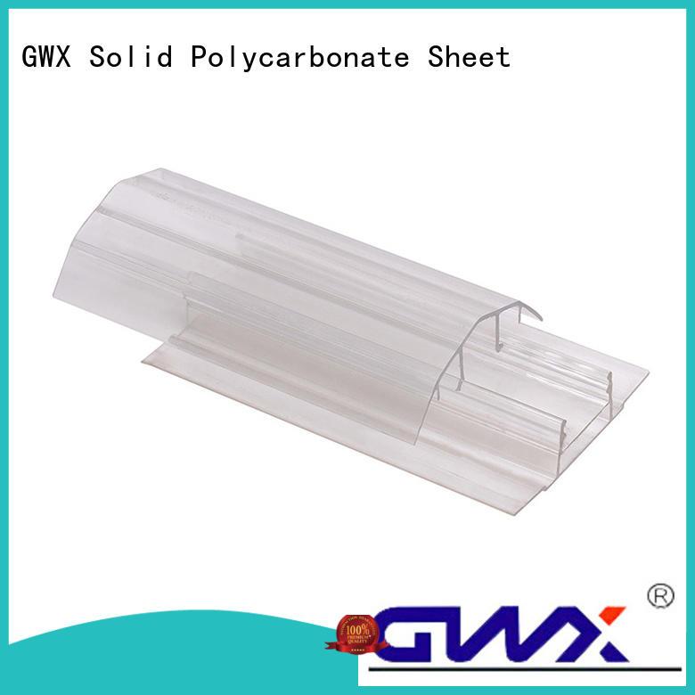 effective polycarbonate u profile L shape manufacturer