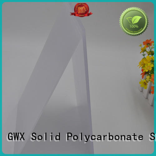GWX 100% new virgin material polycarbonate led light diffuser factory direct for Gazebo