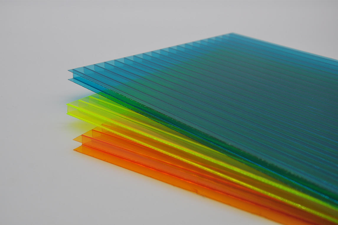 GWX impact-resistant pc multi polycarbonate multiwall sheet cellular for swimming pool cover-1