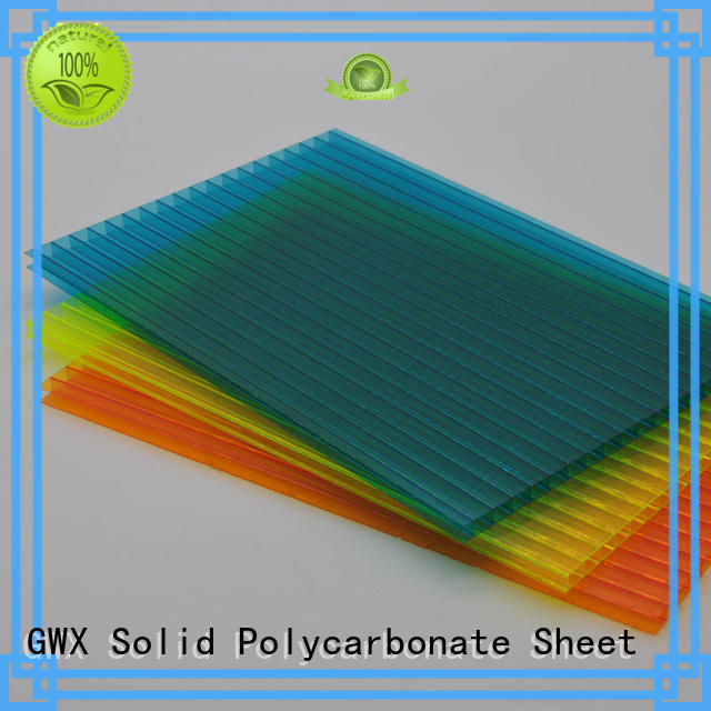 GWX professional hollow sheet supplier for greenhouse