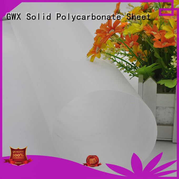 soft polycarbonate film abrasion surface manufacturer for protection