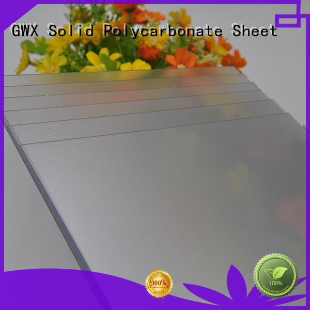GWX transparent frosted acrylic wholesale for office partition