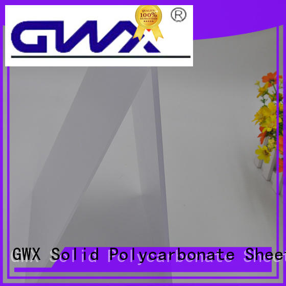 GWX 100% new virgin material light diffusion polycarbonate sheet supplier for LED light diffusion