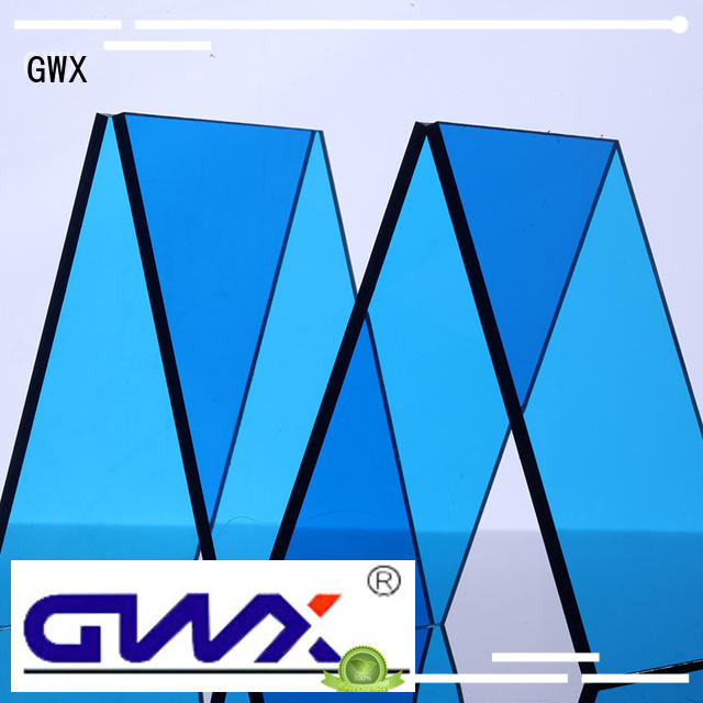 Hot polycarbonate polycarbonate solid sheet packing brown GWX Brand