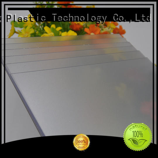 GWX Brand frosted frosted polycarbonate sheet surface supplier
