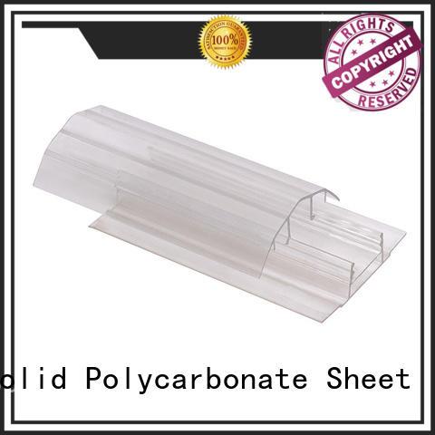 GWX high quality u profile plastic L shape