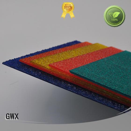 makrolon plastic anti-uv surface for overpass GWX