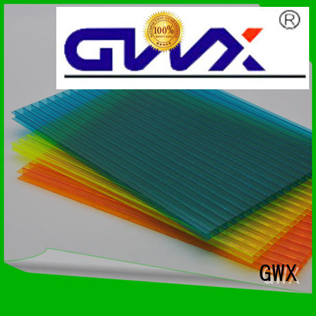 hollow polycarbonate hollow sheet cellular GWX company