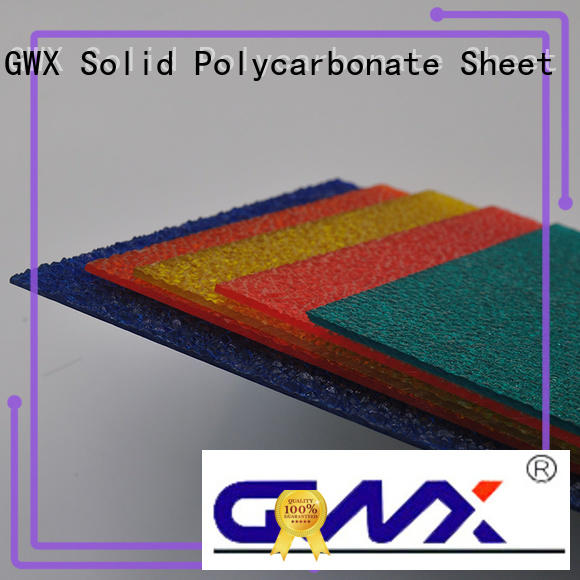 hot selling polycarbonate embossed sheet lexan factory direct for door