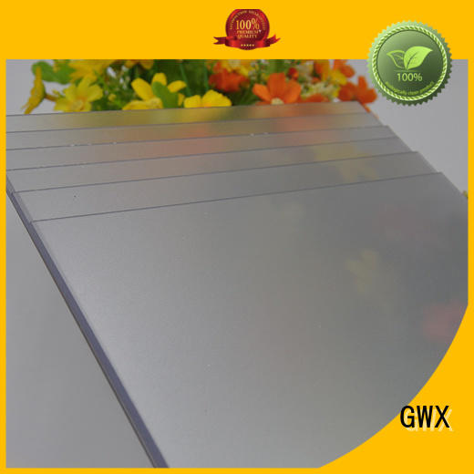 frosted polycarbonate sheet barrier frosted acrylic sheet antiscratch company