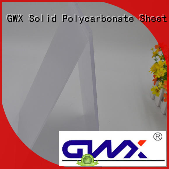 GWX 100% new virgin material polycarbonate diffuser panels manufacturer for greenhouse