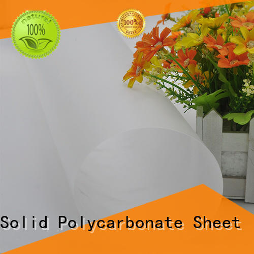 recyclable makrofol polycarbonate film lexan supplier for surface