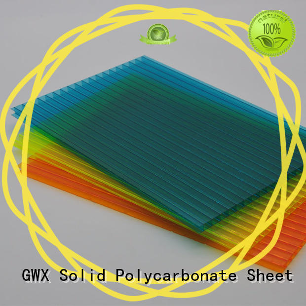 high quality hollow core polycarbonate sheet lexan factory direct for swimming pool cover
