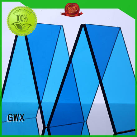 GWX professional solid polycarbonate sheet manufacturer for roofing covering