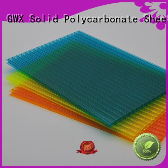 pc sheet price 100% virgin Bayer for Gazebo GWX
