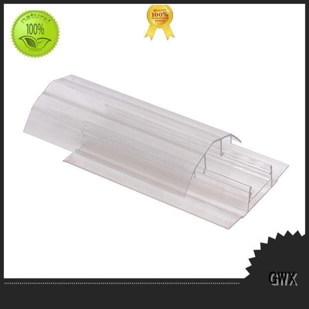 waterproof polycarbonate u profile U shape supplier for PC sheets