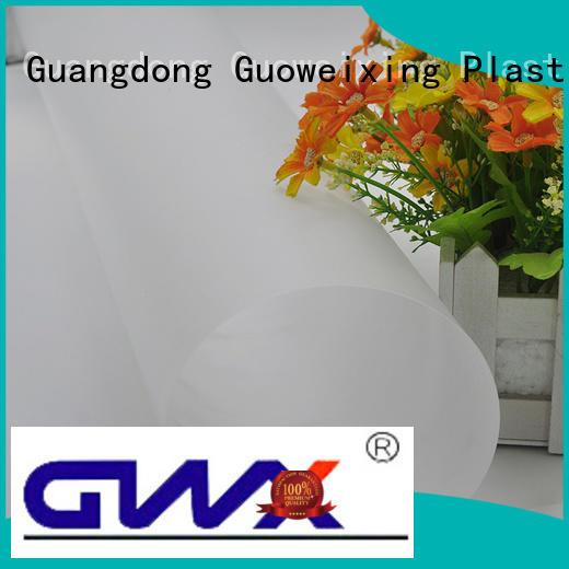 GWX Brand film abrasive polycarbonate film manufacture