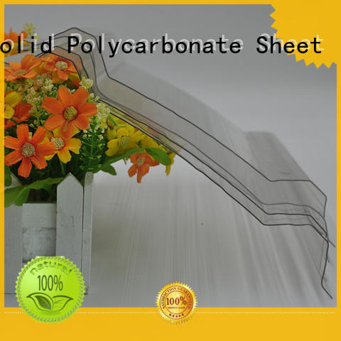 quality guaranteed polycarbonate corrugated sheet round supplier for roofing covering