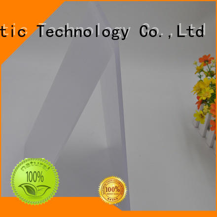 polycarbonate Custom billboard light diffusion polycarbonate sheet led GWX